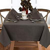 "Ruvanti Table Cloth (60X84"")6-8 Seats.Premium Quality 100 %Cotton Rectangle Tablecloth.Washable & Reusable Table Cloths…"