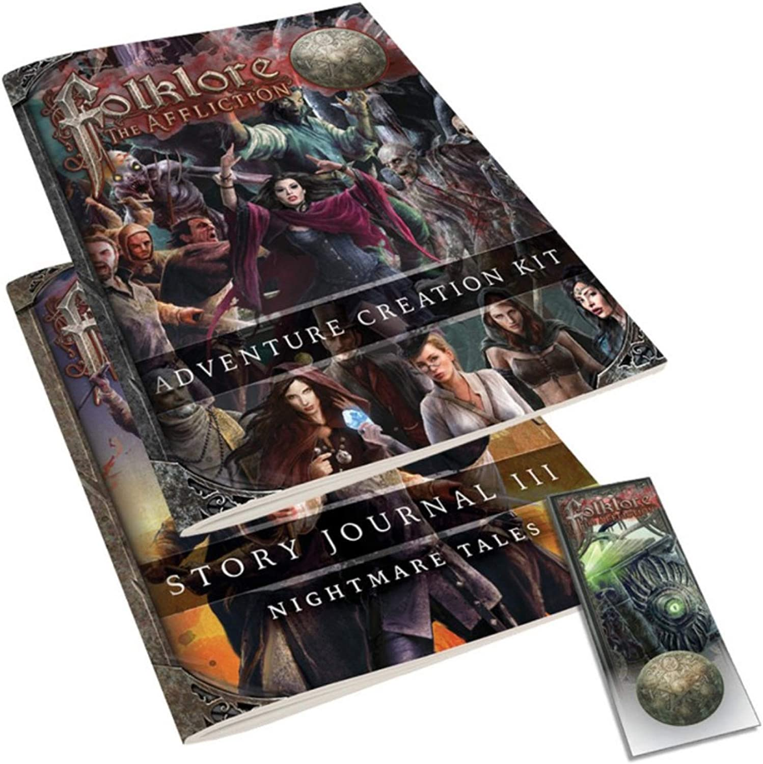 GreenBrier Games FL31GNE Greenbrier Games Folklore Multi-Colored The Affliction Core Game 2E Games