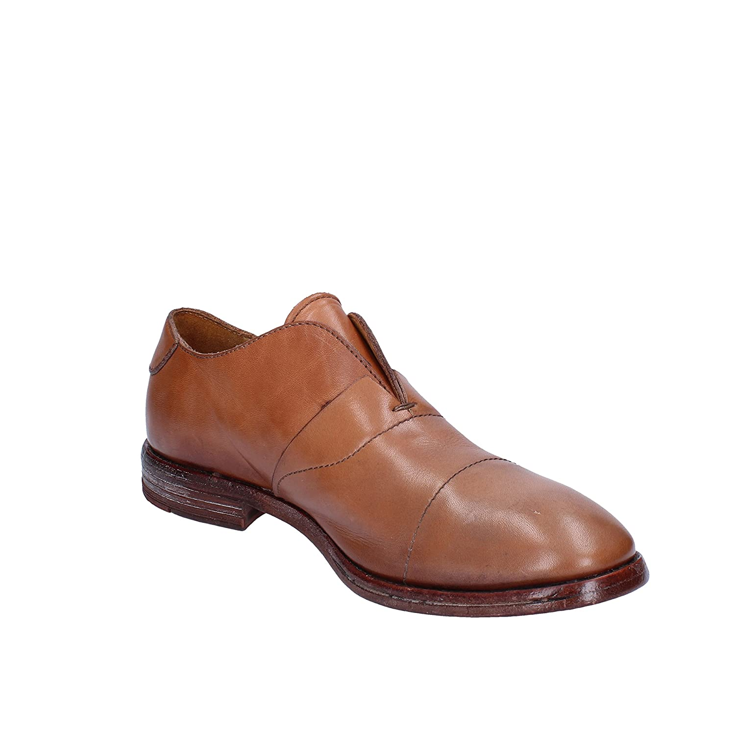 MOMA Oxfords-Shoes Mens Leather Brown