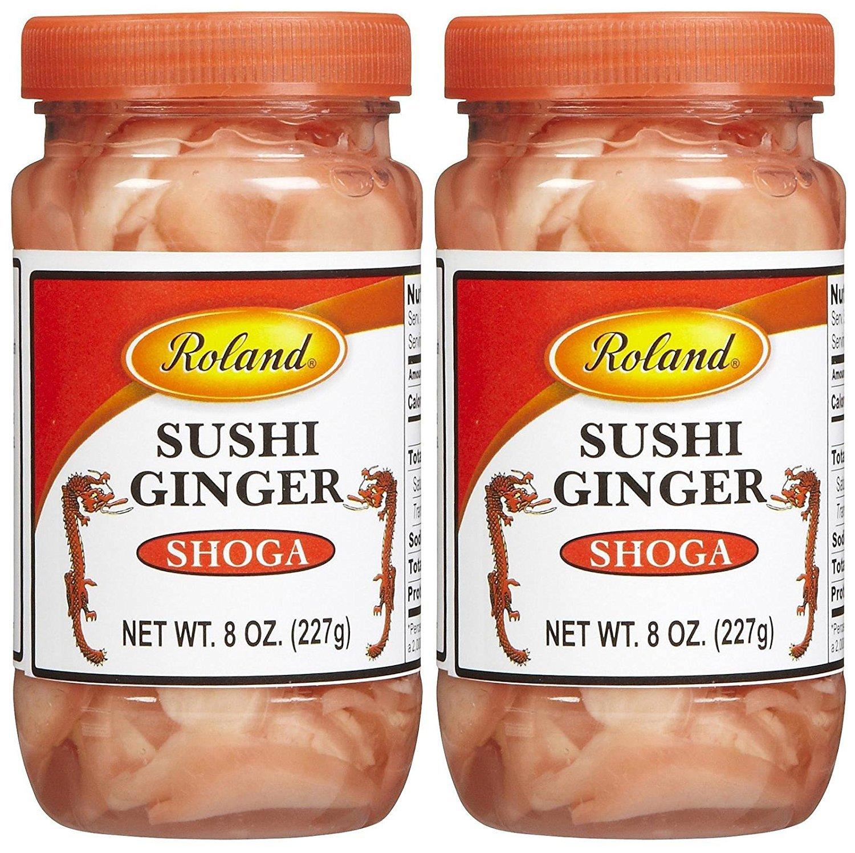 Roland Sushi Ginger, 8 oz, 2 pk by Roland (Image #1)
