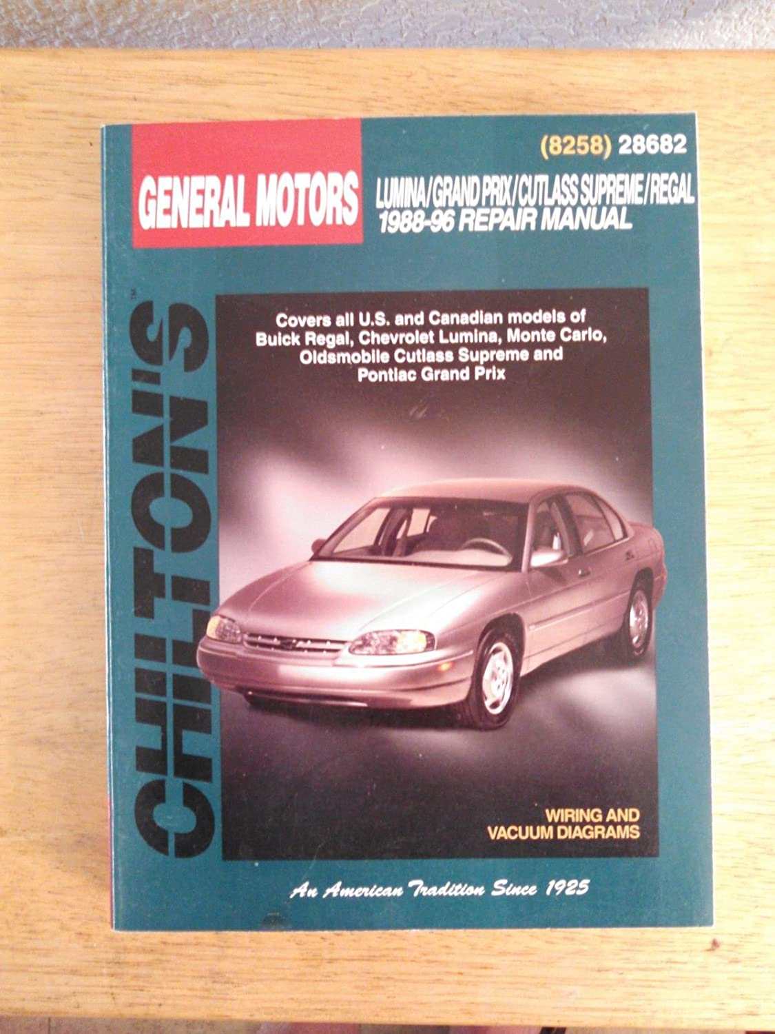 Amazon.com: 1988-96 Chilton Repair Manual - GM Intermediates - #28682:  Everything Else
