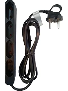 allocacoc PowerBar DuoUSB, Reiseadapter mit 2 USB Steckdosen (2,1A ...