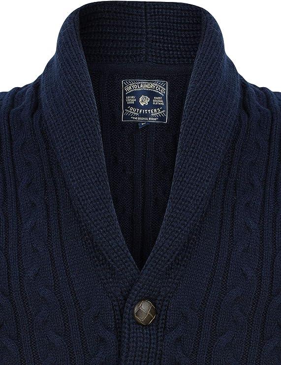 Kitaro Strickjacke Cardigan Jacke Strick Knit Herren Langarm Maritime Classics