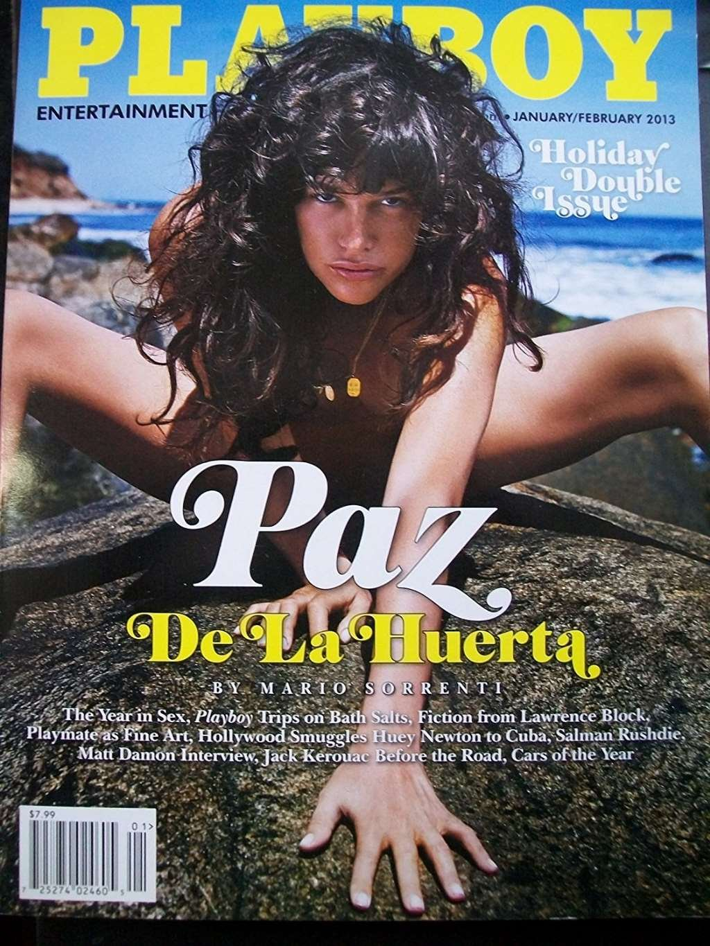 PLAYBOY MAGAZINE, ENTERTAINMENT FOR MEN JANUARY/FEBRUARY, 2013