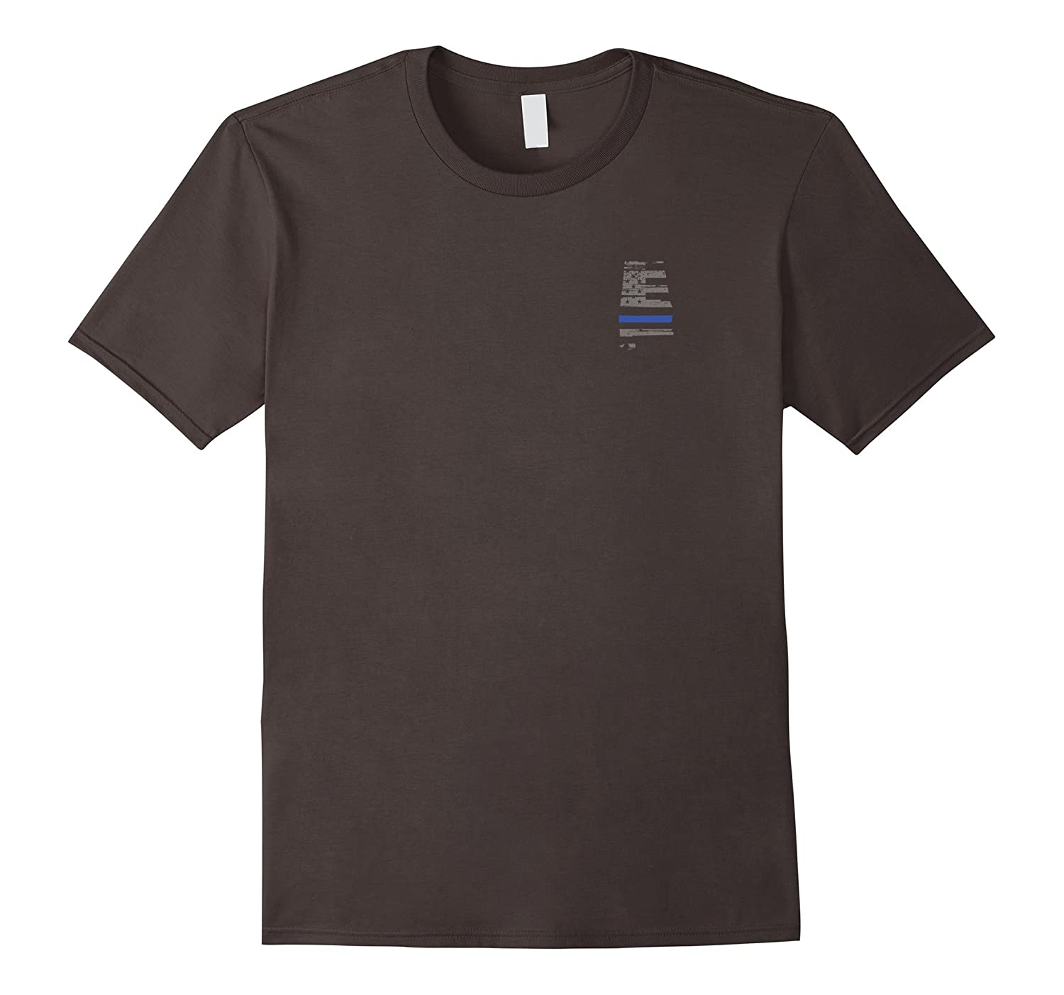 Alabama Police Law Enforcement Thin Blue Line Shirt-RT