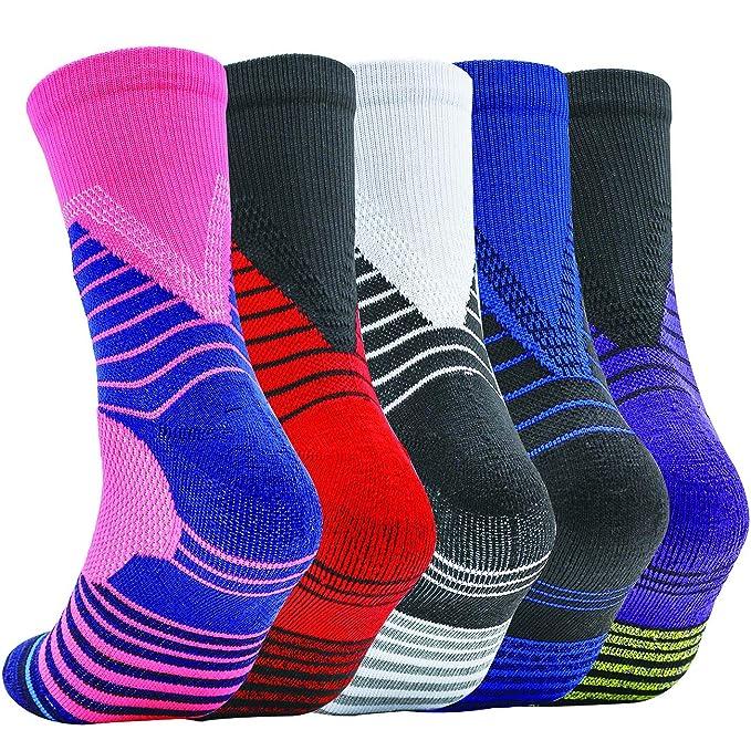 Amazon.com: Calcetines de baloncesto para niño grande ...
