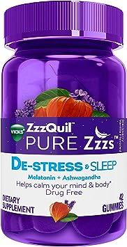 Amazon.com: Vicks ZzzQuil Pure Zzzs Gomitas de melatonina ...