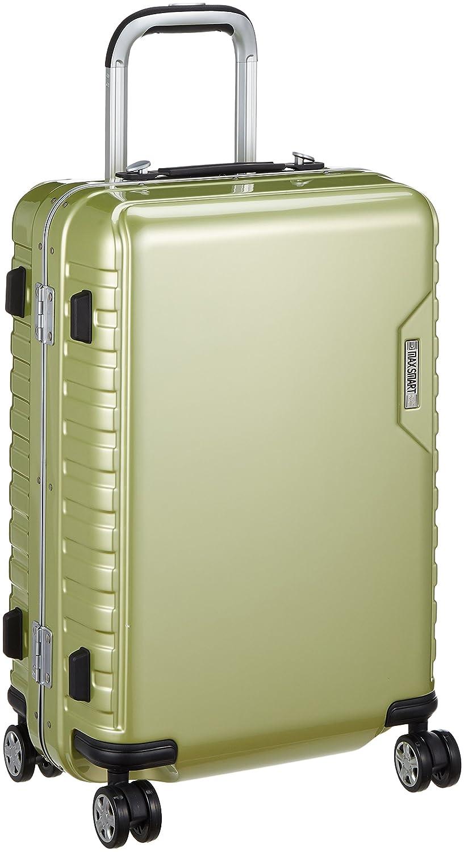 [アジアラゲージ㈱] ハードキャリー MAX SMART(マックススマート) 国内線機内持込み可能サイズ 38L ダイヤル式ロック 静音キャスター 機内持込可 38L 55cm 3.4kg MS-205-21  ライム B07B2WPDPF