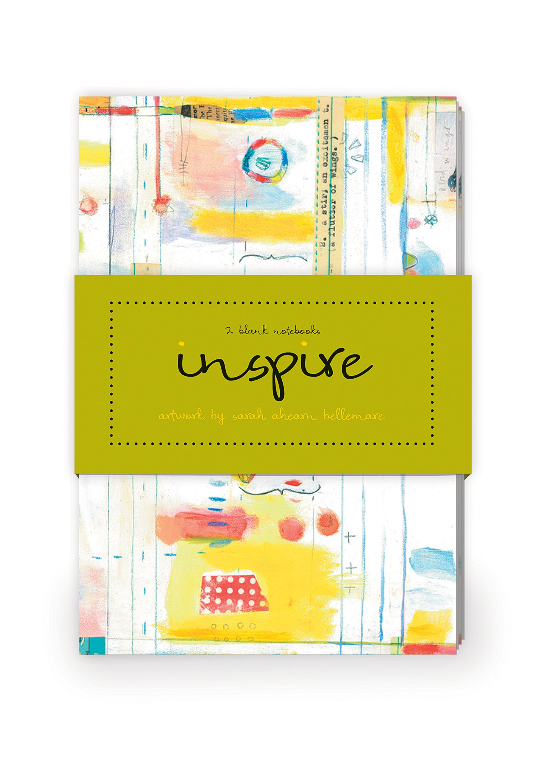 Inspire Artwork by Sarah Ahearn Bellemare Journal Collection 1: Set of two 64-page notebooks PDF