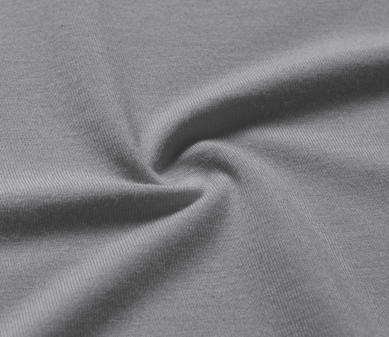 Esenchel Womens Tunic Top Casual T Shirt for Leggings