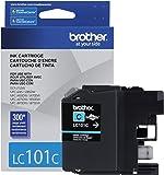 Brother Printer LC101C Cyan Ink Cartridge