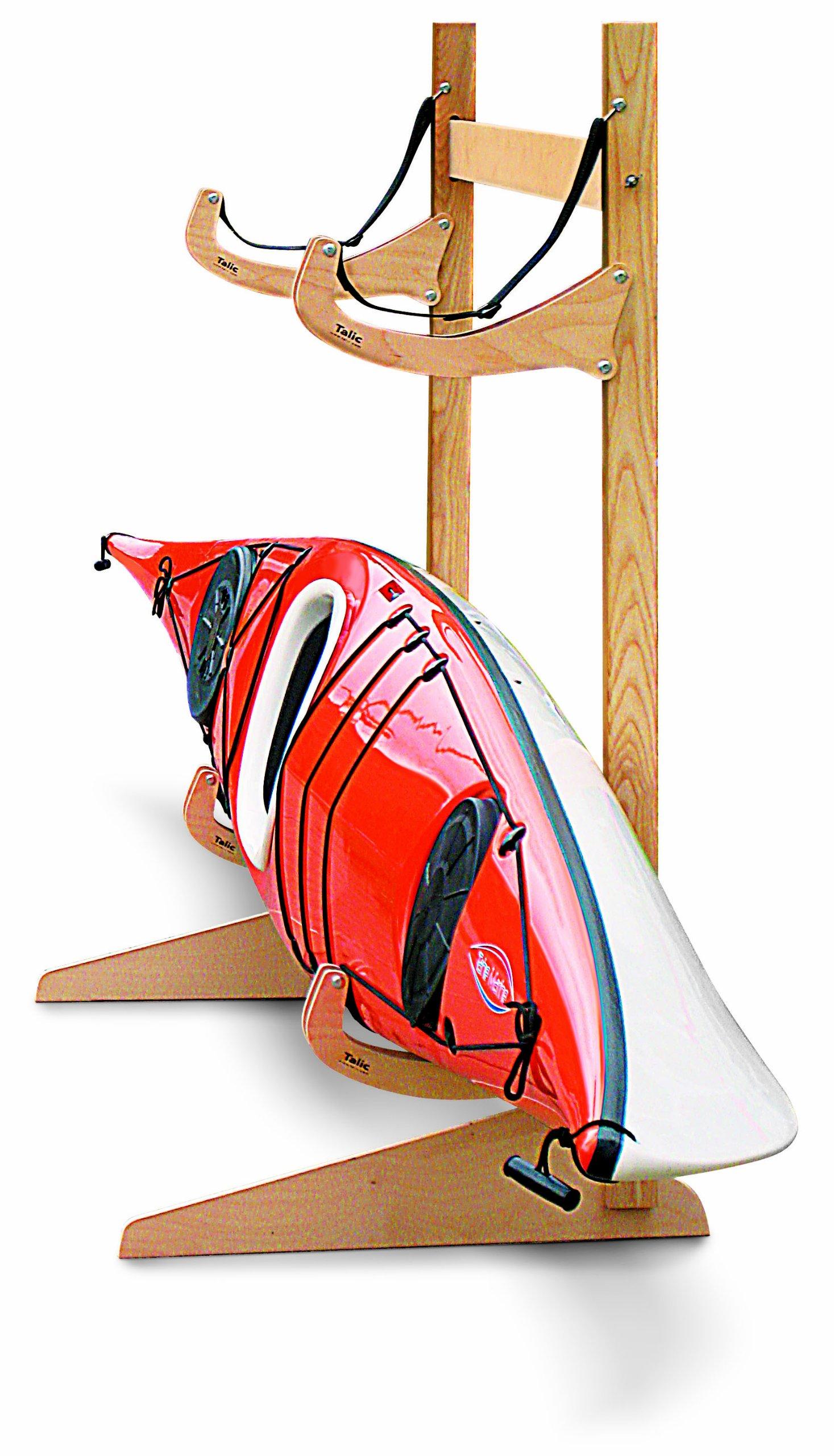 Talic Cayuga - 2 Boat Freestanding Kayak Storage Rack