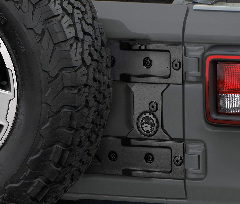 omotor Oversize Spare Tire Carrier Mounting Bracket Kit fit for 18-19 Jeep Wrangler JL