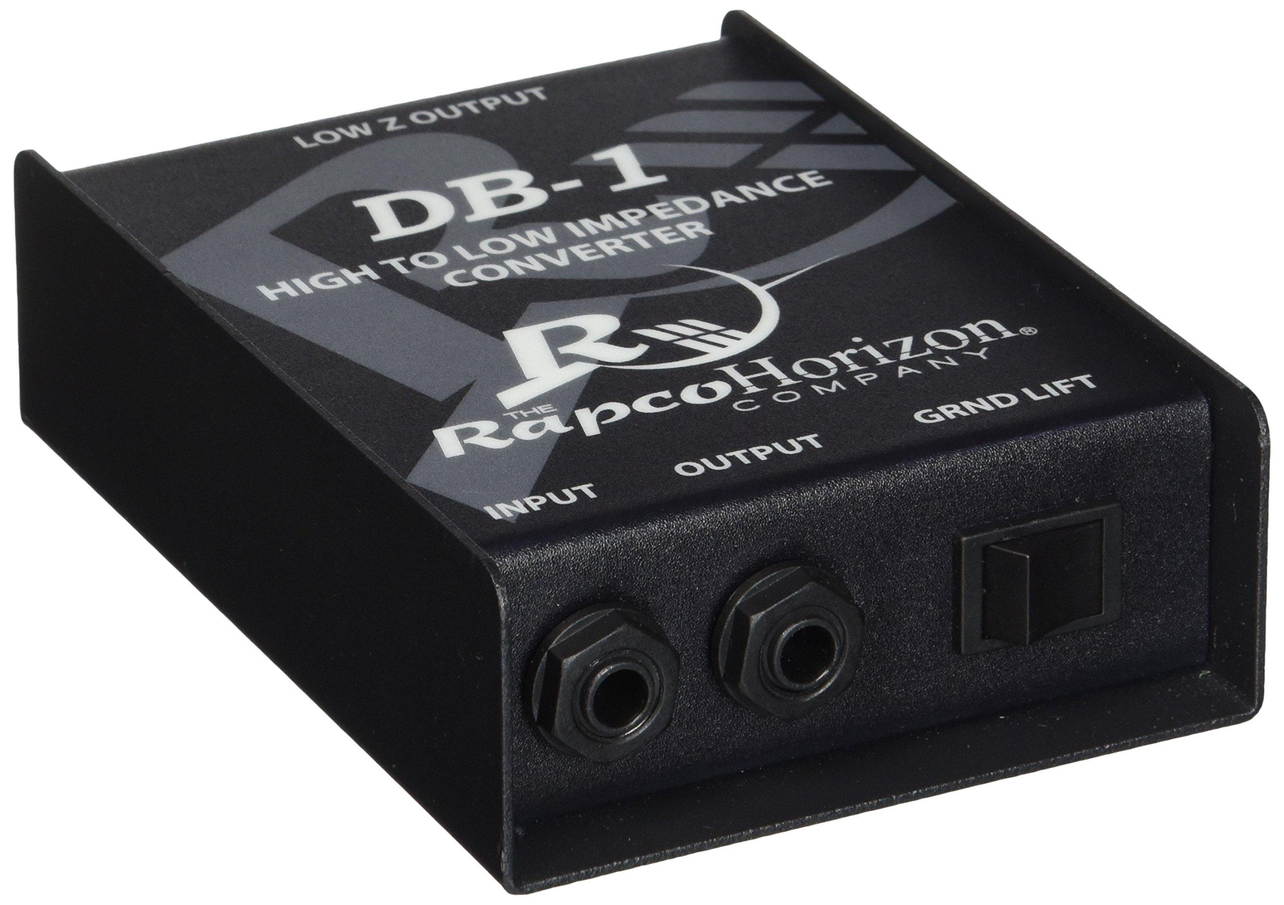 Rapco Horizon DB-1 Passive Direct Box by Rapco Horizon