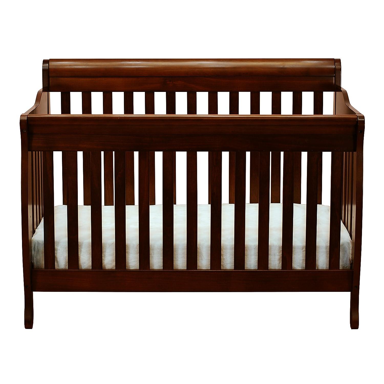 Amazon.com: Athena Alice 3 in 1 Crib with Toddler Rail, Espresso: Baby