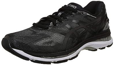 sports shoes 1bbc6 6b9f5 ASICS Men's Gel-Nimbus 19 (4E) Black/Onyx/Silver Running ...