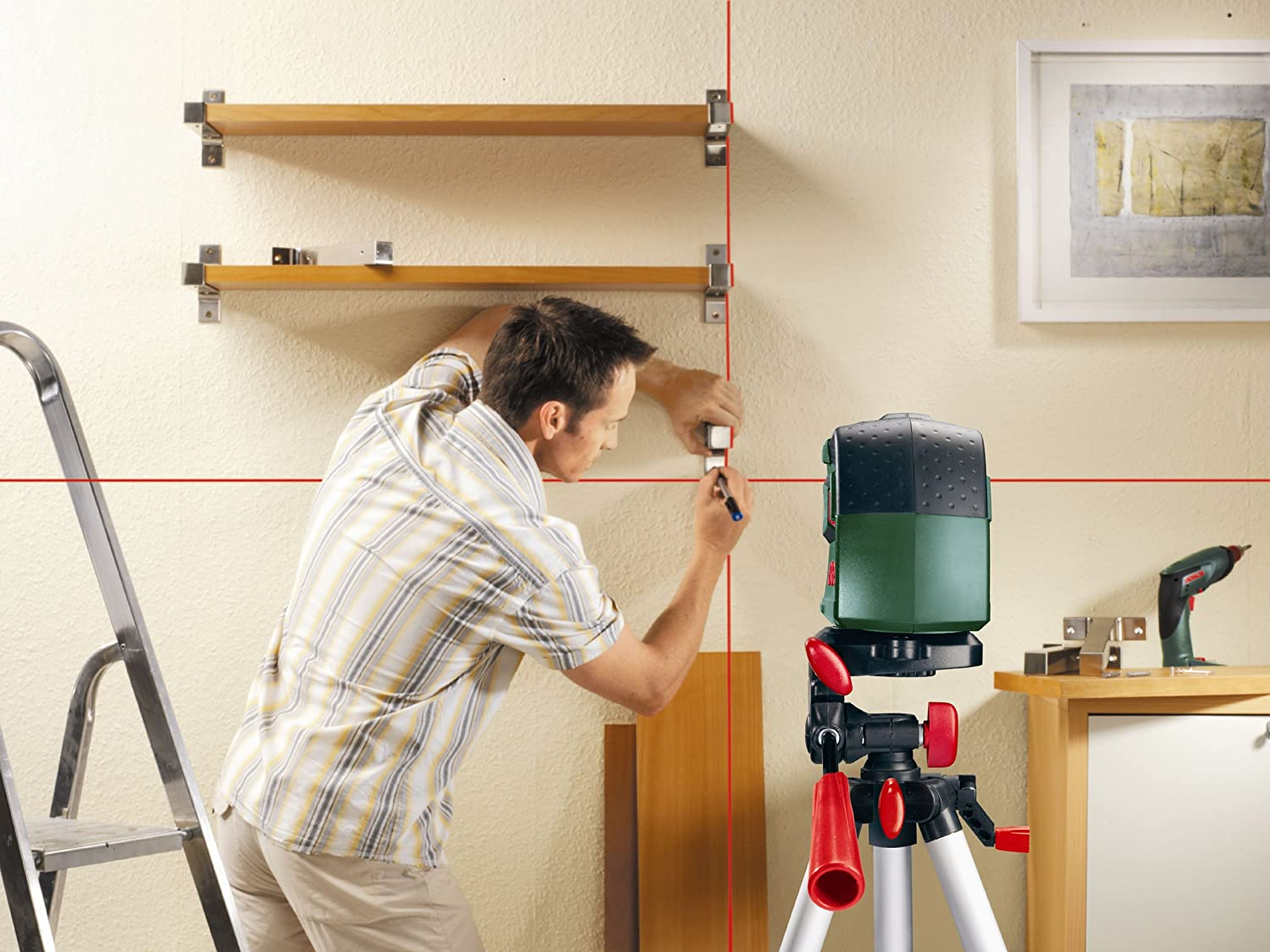 Laser level Bosch PCL 10 Set: specifications, photos and reviews