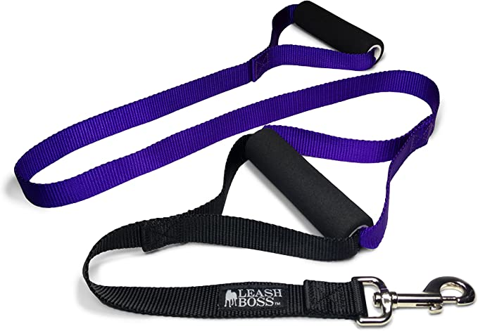 Leash Boss Original Heavy Duty Dog Leash for Large Dogs – The Best Harness for Heavy Pullers