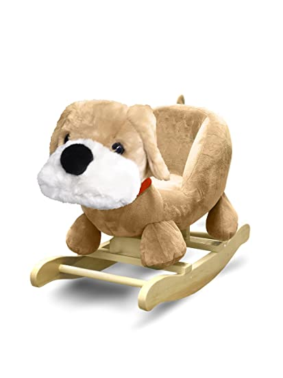 Excellent Amazon Com Heritage Kids Dog Kids Figural Rocking Chair Squirreltailoven Fun Painted Chair Ideas Images Squirreltailovenorg