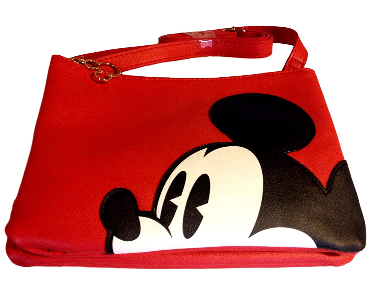 nueva estilos f3c16 f72ac Primark Mickey Mouse Disney Bolso Bandolera Cruzado: Amazon ...