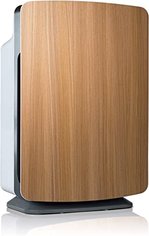 Alen BreatheSmart Classic Large Room Air Purifier, 1100 sqft. Big Coverage Area, HEPA Filter for Pet Dander, Pet Odors, Allergies, Pollen, Dust, Dander and Fur, with Extra Filter in Oak