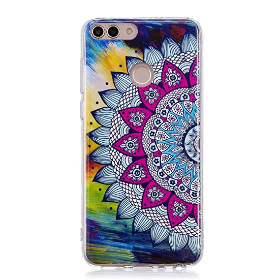 release date: 7c7d3 a3f40 Huawei P Smart Case, Luminous Noctilucent Glow in the Dark Case Matching  Design Protective Phone Back Cover TPU Shell Case for Huawei P Smart/Enjoy  7S ...