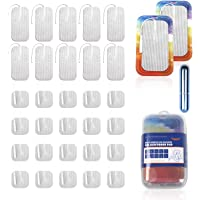 vuUUuv TENS Unit Pads Latex-Free Replacement Pads for Electrotherapy(2in×2in 20Pcs+2in×4in 10Pcs)