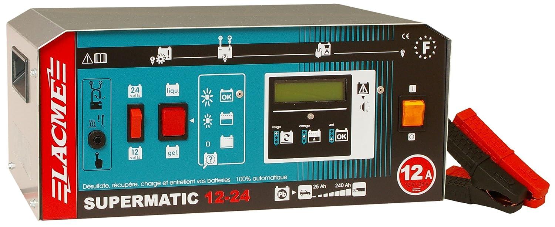 SUPERMATIC 12–24LCD Ladegerät