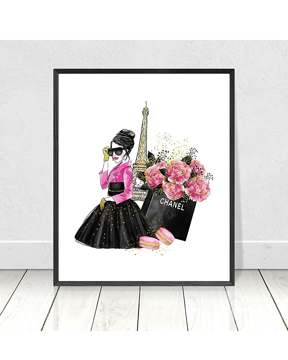 graphic relating to Chanel Printable identified as : King65irginia Chanel Print Chanel Prints Chanel