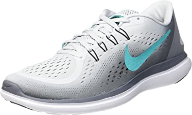 Nike Wmns Flex 2017 RN, Zapatillas de Running para Mujer, Multicolor (Pure Platinum/Clear Jade/Cool Grey/Black 007), 42.5 EU: Amazon.es: Zapatos y complementos