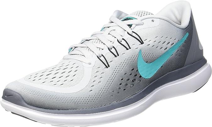 Nike Wmns Flex 2017 RN, Zapatillas de Running para Mujer, Multicolor (Pure Platinum/Clear Jade/Cool Grey/Black 007), 42.5 EU: Amazon.es: Zapatos y complementos