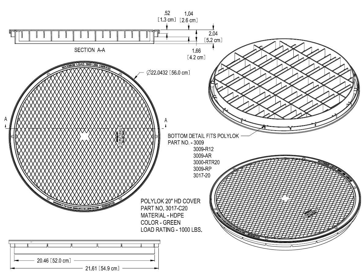 Details about Polylok 3017-C20 20