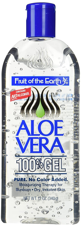 Fruit Of The Earth 100 % Aloe Vera Gel, 12 oz (Pack of 2) 120
