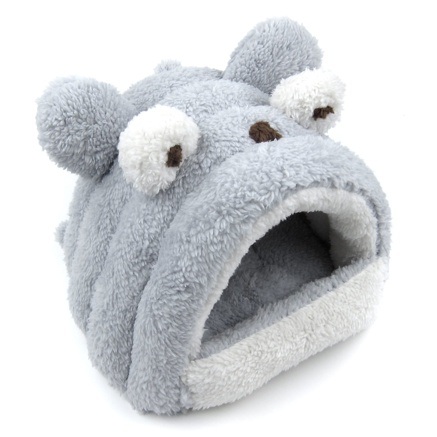 Alfie Pet by Petoga Couture - Tobin Sleeping Cave Bed for Small Animals like Dwarf Hamster and Mouse - Color: Grey by Alfie (Image #3)