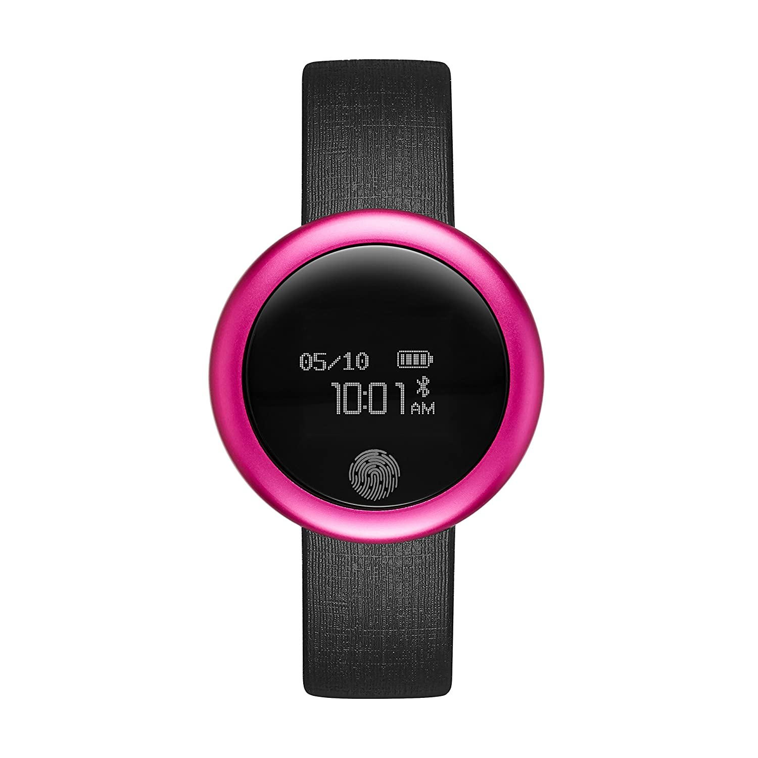 Amazon.com: Emotion Unisex Smartwatch, de metal y hule color ...