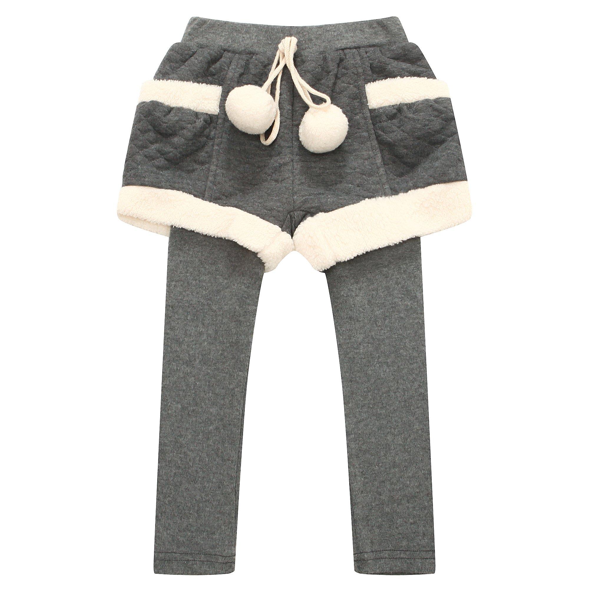 Richie House Little Girls' Leggings with Shorts RH0902-C-5/6