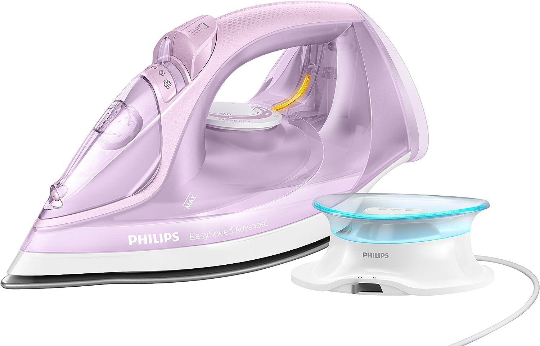 Philips GC3675/30 Easy Speed EasySpeed Advanced - Plancha de vapor inalámbrica, 2400 W, 0.3 litros