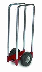 "Raymond Steel Caddy with Handle, Airless Rubber Wheels, 350 lbs Load Capacity, 20"" Width X 15"" Depth"