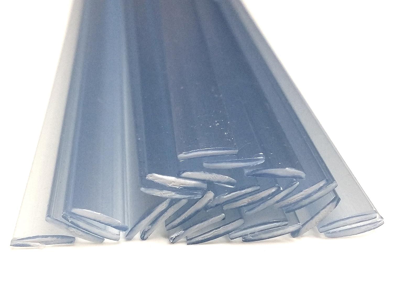 Alambre de soldadura de plástico PVC-U duro 8x1mm Plano Transparente ...
