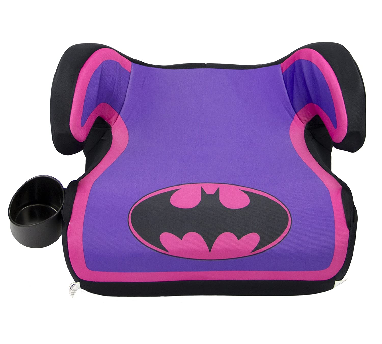 KidsEmbrace DC Comics Batgirl Backless Booster Car Seat 4801BTGCAN