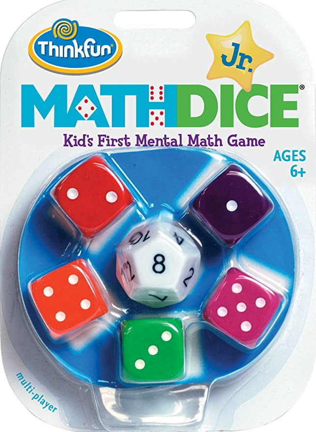 Think Fun ThinkFun!-Ci-Math Dice Junior, Multicolor TF1515: Thinkfun Maths Dice Junior (Multicoloured): Amazon.es: Juguetes y juegos