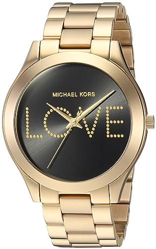 2fca1614eb36 Michael Kors para mujer mk3803 - Slim Runway  Amazon.es  Relojes