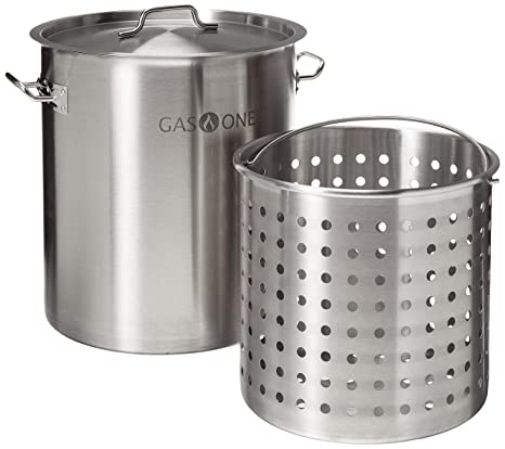 Amazon.com: Olla para freidora Gas One 32 QT – todos los ...