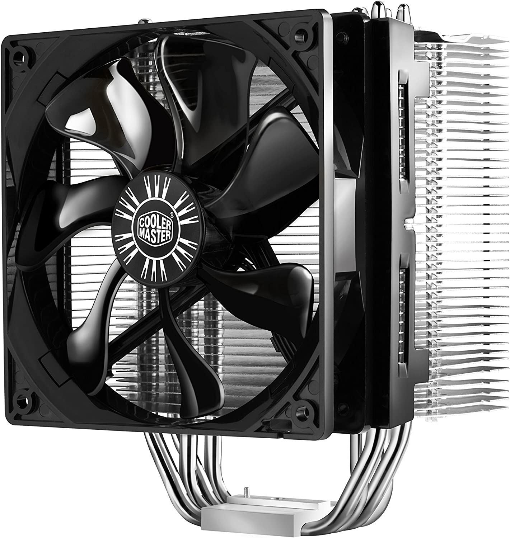 Cooler Master Hyper 412S Ventiladores de CPU '4 Heatpipes, 1x Ventilador de 120 mm, ' RR-H412-13FK-R1