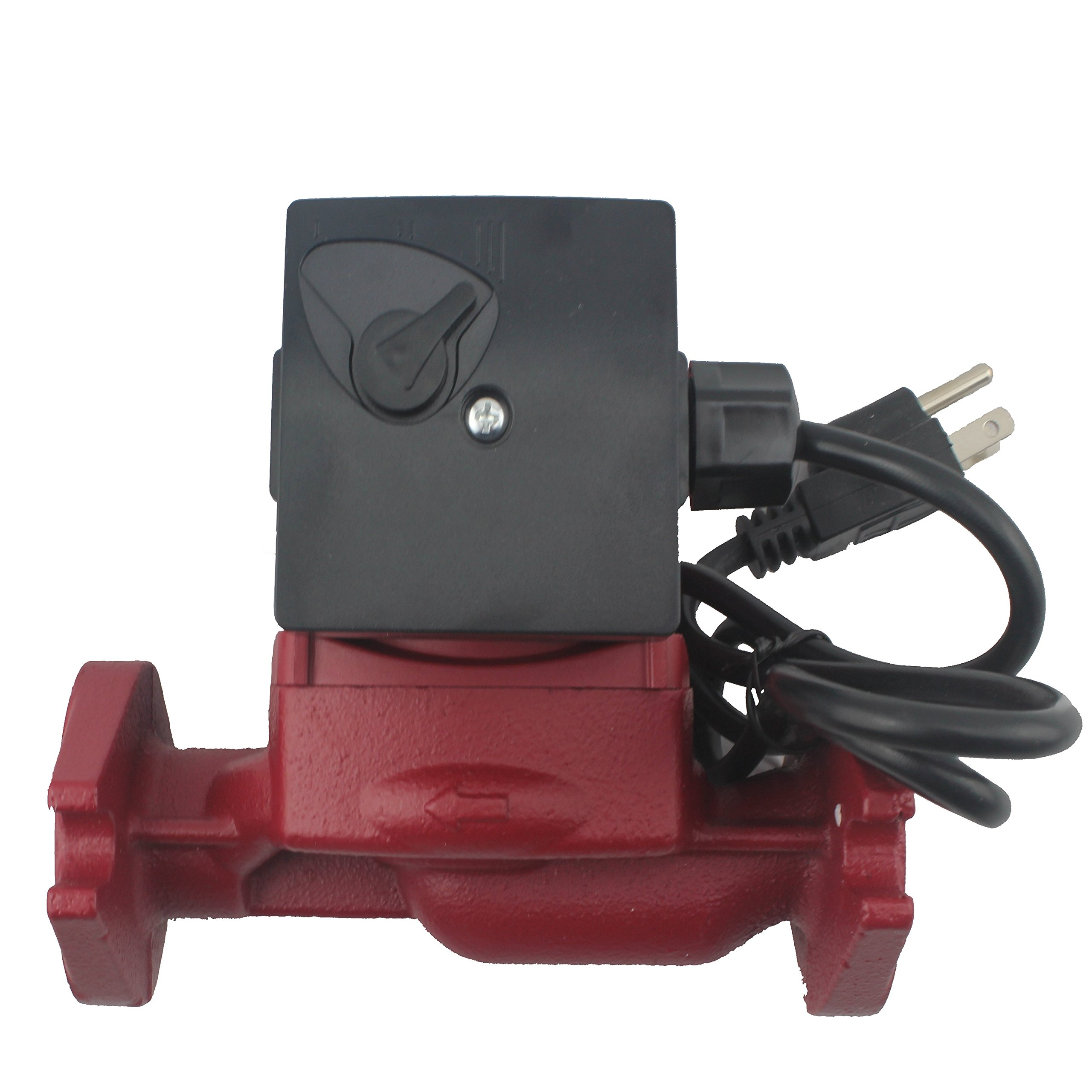 WiseWater Circulation/Circulating Pump with Internal Threaded Flanges - Up to 19.7 Feet Head Range, 3 Speed Switchable for Hydronic Radiant Heating and Plumbing by AB (Image #3)