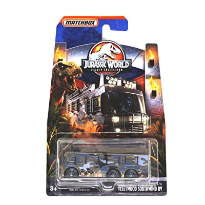Matchbox DieCast Jurassic World Legacy Collection Fleetwood Southwind RV From Jurassic Park the Lost World: Toys & Games