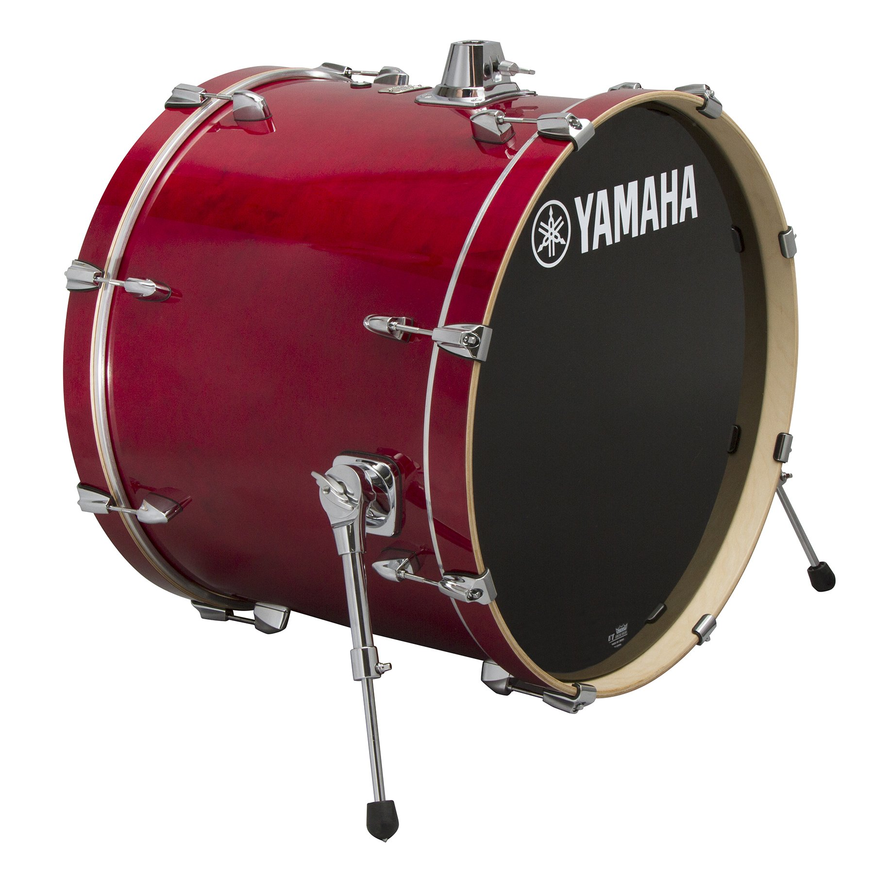Yamaha Stage Custom Birch 20x17 Bass Drum, Cranberry Red