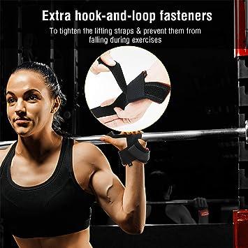 ZEBRA Weight Lifting Straps For Men//Women Weight Bar Straps Cotton 1 Pair