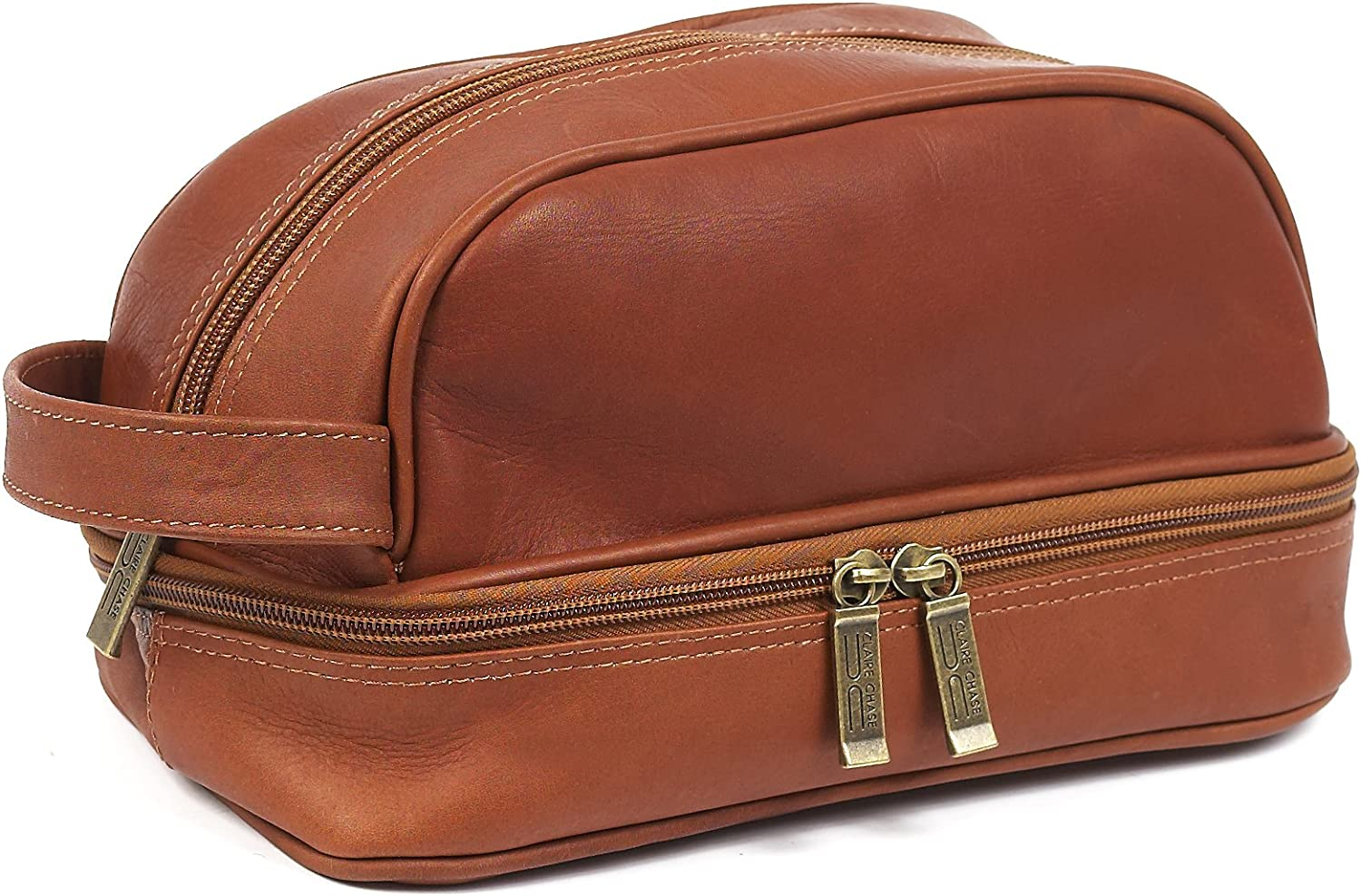 Claire Chase Mediterranean Travel Kit Saddle One Size 775