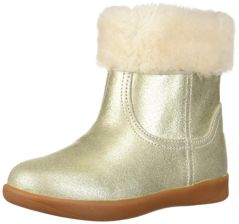 9a7ee40bb84 UGG Toddler Girls Jorie II Metallic Boot: Amazon.co.uk: Shoes & Bags